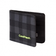 Młodzieżowy portfel męski Coolpack Black&Yellow 421