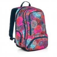 Dwukomorowy plecak młodzieżowy Topgal HIT 859