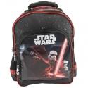 Plecak szkolny dla chłopca Star Wars Epizod VII, czarno czerwony