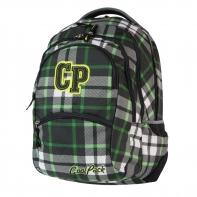 Młodzieżowy plecak szkolny CoolPack College 27L, Green Tartan