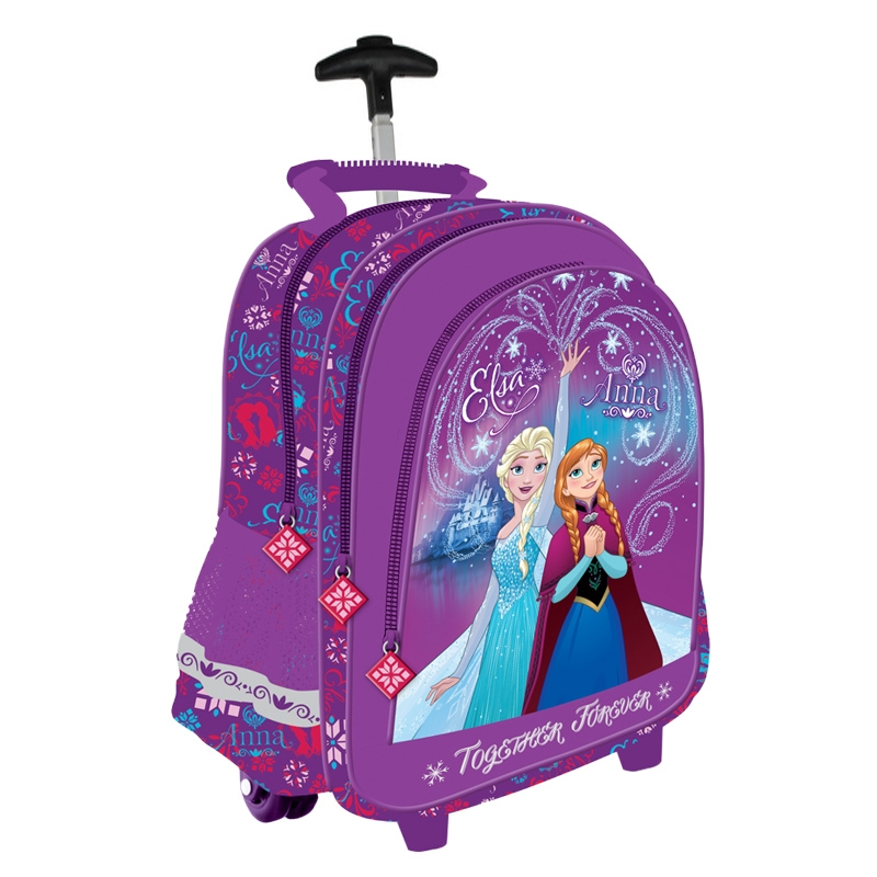 6ca02b46661ee Plecak na kółkach dla dziewczynki Frozen - kraina lodu