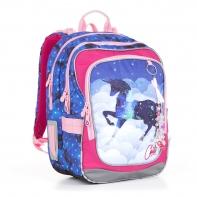 Plecak szkolny dwukomorowy dla dziewczynki Topgal CHI 843