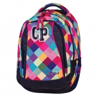 Młodzieżowy plecak szkolny CoolPack Student 26L, Patchwork