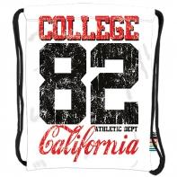 Worek na obuwie/plecak na sznurkach St.Right California 82 SO-10