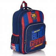 Dwukomorowy plecak szkolny FC Barcelona FC-131