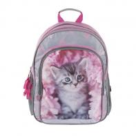Plecak szkolny dla dziewczynki Paso kotek