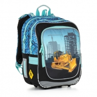 Plecak szkolny dwukomorowy dla chłopca Topgal CHI 877