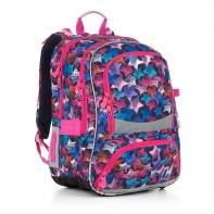 Plecak szkolny dwukomorowy dla dziewczynki Topgal CHI 867