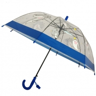 Dziecięca głęboka parasolka z gwizdkiem, rekinki