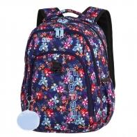 Młodzieżowy plecak szkolny CoolPack Strike 26L, Tropical Bluish A222