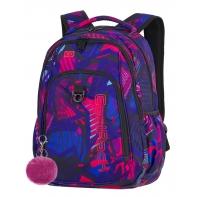 Młodzieżowy plecak szkolny CoolPack Strike 26L, Pink Abstract A285