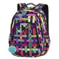 Młodzieżowy plecak szkolny CoolPack Strike 26L, Ribbon Grid A296