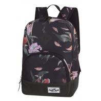 Bardzo lekki plecak szkolno - miejski CoolPack Classic 23 L, Lilies A097