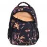 Młodzieżowy plecak szkolny Basic Plus 27L, Lilies A145