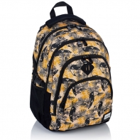 Plecak szkolny Astra Head HD-88, sepia w tukany