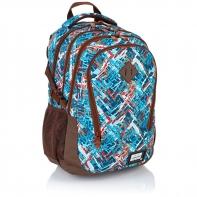 Plecak szkolny Astra Head HD-85, w kolorowy wzór