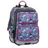 Plecak szkolny trzykomorowy Bagmaster kolorowe bąbelki