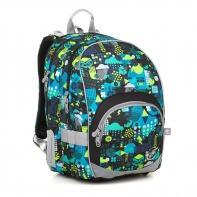 Plecak szkolny dwukomorowy dla dziewczynki Topgal KIMI 18011