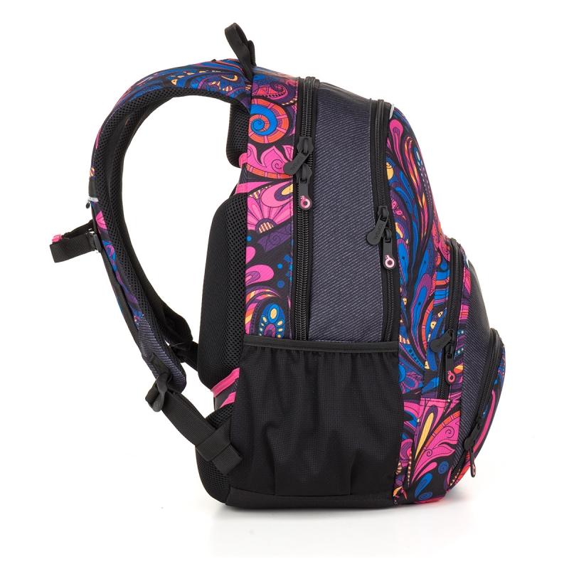 e0d4cf5b67b01 Dwukomorowy plecak młodzieżowy Topgal SIAN 18031