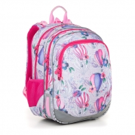 Plecak dwukomorowy dla dziewczynki Topgal ELLY 18007