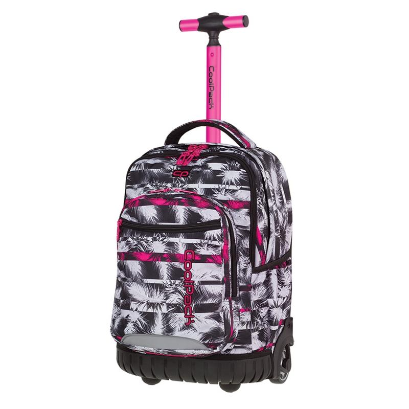 d75b4d10c2a4e Plecak szkolny na kółkach CoolPack Swift Palm Trees A026