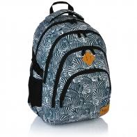 Plecak szkolny Astra Hash HS-15, zebry