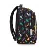Swiecący plecak szkolny CoolPack LED Joy M 23 L Rockets A20207 + ładowarka