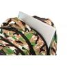 Plecak szkolny na kółkach CoolPack Junior 24 L, CAMO DESERT BADGES