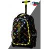 Świecący plecak szkolny na kółkach CoolPack Junior LED 24 L, ROCKETS + ŁADOWARKA