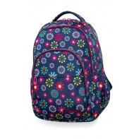 Młodzieżowy plecak szkolny CoolPack Basic Plus 27L, Hippie Daisy, B03015