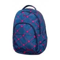 Młodzieżowy plecak szkolny CoolPack Basic Plus 27L, Heart Link, B03009