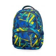 Młodzieżowy plecak szkolny CoolPack Spiner 27L, Abstract Yellow, B01007