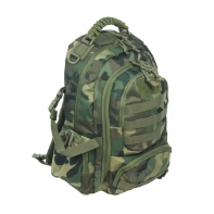 Dwukomorowy plecak St.Right 30 L, Navy Military BP32