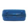 Kosmetyczka kuferek Puccini PPQM014 w kolorze niebieskim