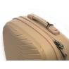 Kosmetyczka kuferek Puccini PPQM014 w kolorze beżowym