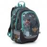 Plecak szkolny dwukomorowy Topgal CODA 19016