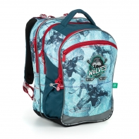 Plecak szkolny trzykomorowy Topgal COCO 19012