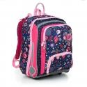 Tornister, plecak usztywniany dla dziewczynki Topgal BEBE 19001