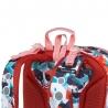Plecak usztywniany dla dziewczynki, Topgal BEBE 18043, ze światełkiem