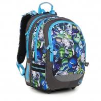 Plecak szkolny dwukomorowy dla chłopca Topgal CODA 18048