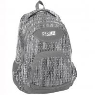 Lekki plecak szkolny Paso, serduszka