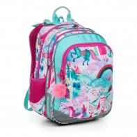 Plecak dwukomorowy dla dziewczynki Topgal ELLY 19004