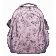 91139a64b40be Trzykomorowy plecak szkolny St.Right 29 L, Vintage Butterflies BP1