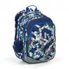 Plecak dwukomorowy dla chłopca Topgal ELLY 19014