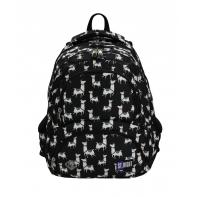 Trzykomorowy plecak szkolny St.Right 24 L, Lamas BP7