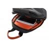 Miejski plecak męski na ramię + USB, Photon Black R-bag