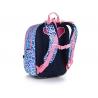 Plecak dwukomorowy dla dziewczynki Topgal ENDY 20043 KOTEK