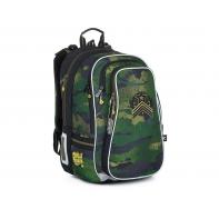 Trzykomorowy plecak dla dziewczynki Topgal LYNN 21018