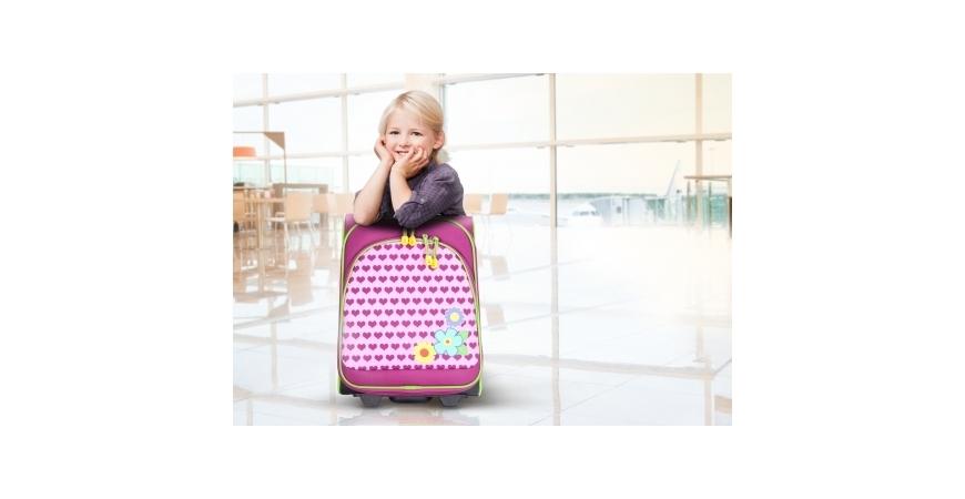 Wybieramy walizkę podróżną dla dziecka